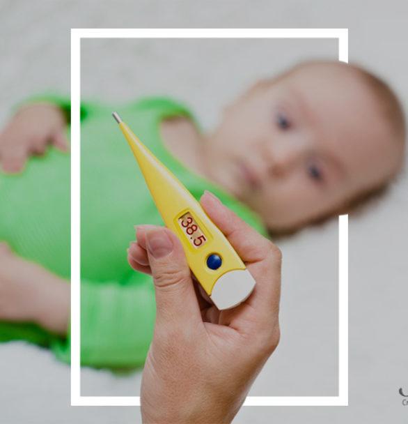Bajar la temperatura de los bebés